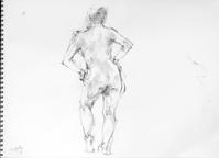 『 Gallery tanasita 17 』 開設 108 - 『Gallery tanasita 1735』croquis・drawing・dessin・ sketch