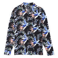 Stüssy Floral L/SL Shirt - trilogy news
