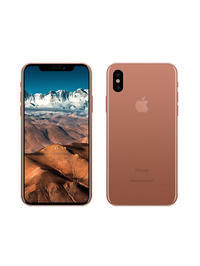 the new iPhone8 color is Blush Gold - view