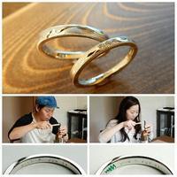 ハンバーガーの結婚指輪 オーダーメイド - 工房Noritake