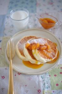 スフレパンケーキとココナッツコーヒースナックロール - The Lynne's MealtimesⅡ