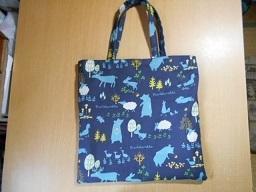 布のバッグ。 -