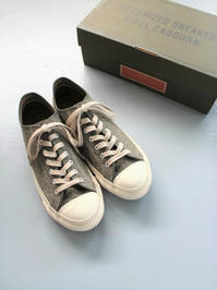 Nigel Cabourn × moonstar ARMY TRAINERS - Low Top / (SWISS ARMY) - 『Bumpkins putting on airs』