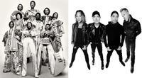 EW&F × Metallicaのマッシュアップ動画が公開 - 帰ってきた、モンクアル?