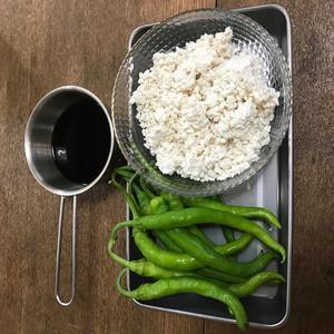 青唐辛子と米麹で「一升漬け」を作りました - たべる、つくる、はしる