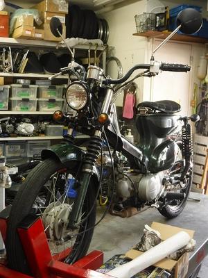カブ90バーハン車 修理、整備作業 - モーターヘッド サイクルショップの古墳日記