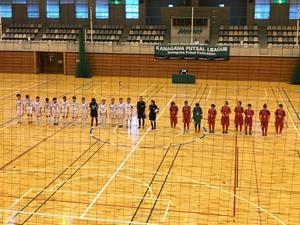 県女子フットサルリーグ 1部リーグ第6節 - 横浜ウインズ U15・レディース
