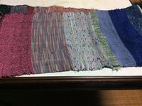 続いてさおり織り体験 「ミニ」ストール こちらは地元で - ハンドメイドメイドでのほほん
