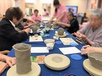 【蚊遣り作り ①】 - 出張陶芸教室げんき工房