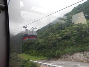 谷川岳ロープウェイと大露天風呂の宝川温泉夏の旅1谷川岳ロープウェイ -