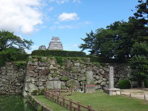 姫路城のんびりサイクリングとゆっくりジョグ -