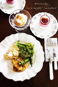 7月のお菓子。 - 小さな料理アトリエ mama's table