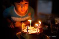 今日は息子の5歳の誕生日です - BobのCamera