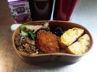 とうもろこしの卵焼きのお弁当… - miyumiyu cafe