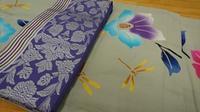 注染のゆかた&博多織半巾帯 - たんす屋新小岩店ブログ