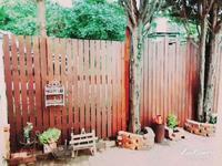 玄関前の塀づくり - **Le petit cadeau **     handmade & life
