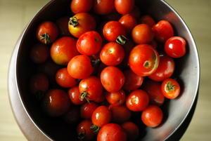 トマトをたくさん貰ったら。 -