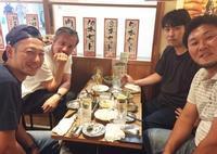 地元の飲み会、成田のハシゴ(入荷 メンズ長袖シャツ 白シャツ 黒シャツ バンドカラーシャツなど) - 千葉 アンティーク、古着のANDANTEANDANTEのアンアンブログ