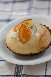 *りんご酵母 クリームチーズロール* - ちょこちょこ*homemade Life