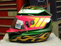 アライヘルメット謹製SK-6をペイントしてみた。 - DRESS OUT  White Blog