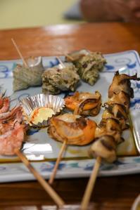 海の幸と東尋坊 - つぶやき『Cauliflower』