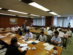 8月4日 次世代産業振興議員連盟設立総会を開催 -