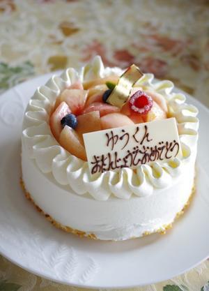 yuoki6歳のお誕生日 - Sweet  Davy