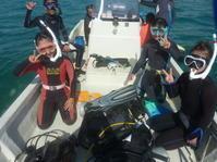 ダイバーファミリーでGO~ ~糸満近海ガイド付きボートダイビング(ファンダイビング)~ - 沖縄本島最南端・糸満の水中世界をご案内!「海の遊び処 なかゆくい」