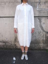 切替えシャツワンピース - suifu