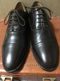 【ハイシャイン】範囲はどこまで? - 銀座三越5F シューケア&リペア工房<紳士靴・婦人靴・バッグ・鞄の修理&ケア>