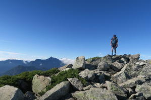 2017.8.11-13 夏の北アルプスハイク3days day3(三俣山荘-高瀬ダム) - 登ったり、漕いだり。