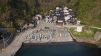 漁村の俯瞰景観をもたらした橋 - 路地裏統合サイト【町角風景】