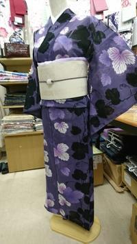トルソーさんゆかたチェンジ~クールで大人な綿絽コーデ - たんす屋新小岩店ブログ
