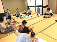 8月10日 ベビマ例会を開催しました - 子育てサークル たんぽぽの会