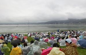 第69回諏訪湖祭湖上花火大会 -