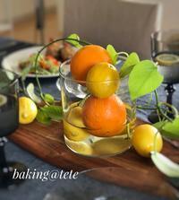 レモンを皮ごと使う時は - 神戸  垂水  パン教室 baking@tete