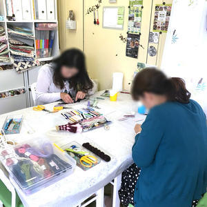 講師ならではの仕入れの楽しみ♪ - 明石・神戸・姫路・加古川のカルトナージュ&タッセル教室 アトリエ・ペルシュ