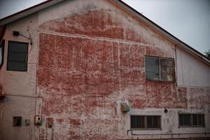 赤く染まった壁 - inside out
