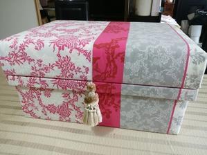 お茶箱変型 - カルトナージュ・お茶箱 京都・大阪・奈良 paris好きblog