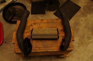【DB7】エアダクトホース取り付け改良 - だいちゃんガレージ