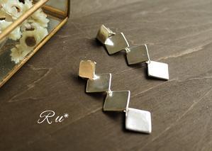 制作の毎日 - Silver clay Ru*  手軽にできるシルバーアクセサリー