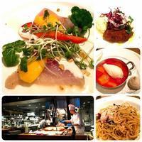 スイカと青山キハチランチ - 今日も食べようキムチっ子クラブ (我が家の韓国料理教室)
