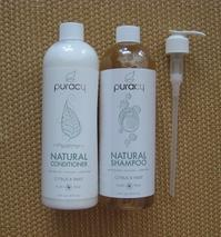 puracy ::: Natural Shampoo&Conditioner(Citrus & Mint) - minca's sweet little things