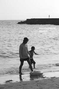 海辺の想い出 - 一瞬をみつめて