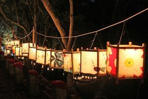 伽耶院万燈会を開催 - ブログ de みっきぃ