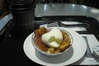 DEAN & DELUCA CAFE(ディーン&デルーカ カフェ NEWoMan) 『ラズベリー&アップルブレッドプディング』 - My favorite things