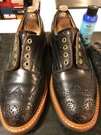 トリッカーズ コードバン 見てすぐわかる靴磨きの楽しさ - 池袋西武5Fシューケア・シューリペア工房