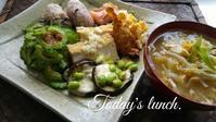 私の元気ランチ - 料理研究家ブログ行長万里  日本全国 美味しい話