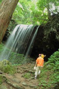 「山の日」は「滝」①**岡山・岩井滝 - きまぐれ*風音・・kanon・・