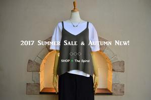 "2017 Summer Sale & Autumn New !...8/17thu"" - SHOP ◆ The Spiralという館~カフェとインポート雑貨のある次世代型セレクトショップ~"